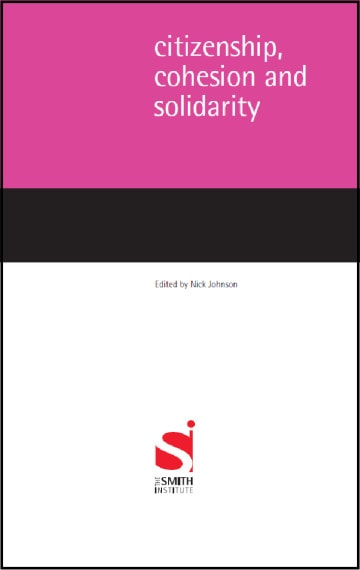 Citizenship, Cohesion and Solidarity
