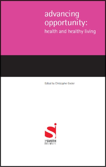 Advancing Opportunity: Health and healthy living