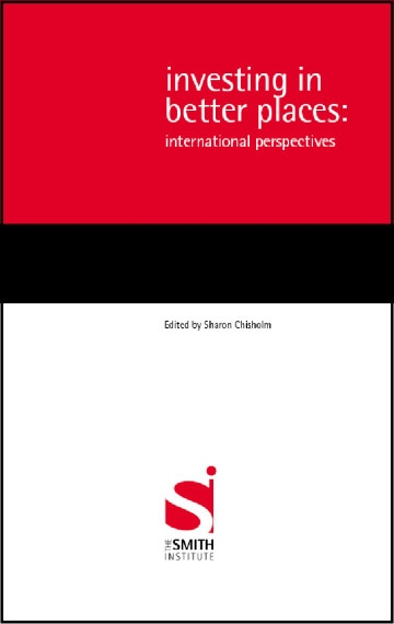 Investing in Better Places: International Perspectives