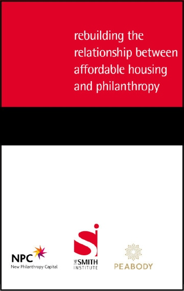 Rebuilding the relationship between affordable housing and philanthropy