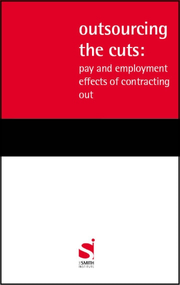 Outsourcing the cuts: pay and employment effects of contracting out