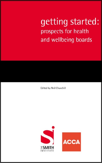 Getting Started: prospects for health and well-being boards