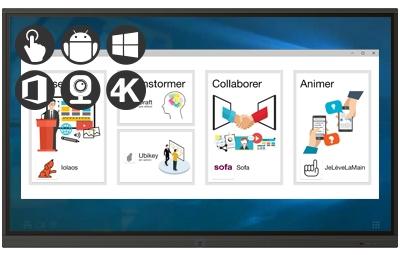 Speechi Touch Pro : La gamme d'écrans interactifs adaptée aux professionnels
