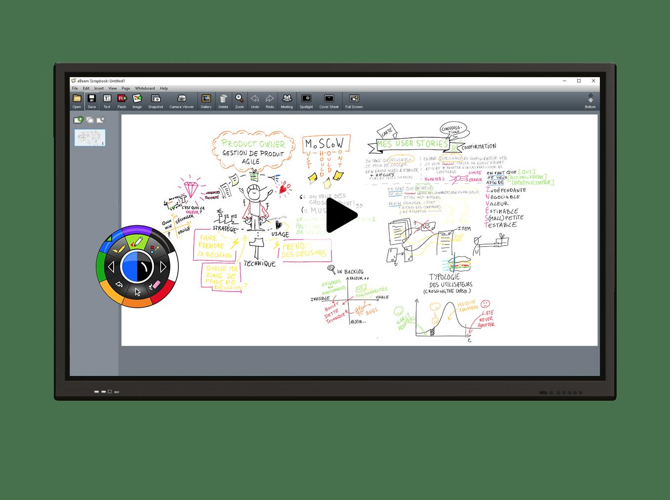 écran interactif uhd eBeam