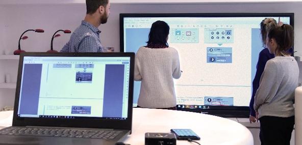 interactivité sans fil entreprise