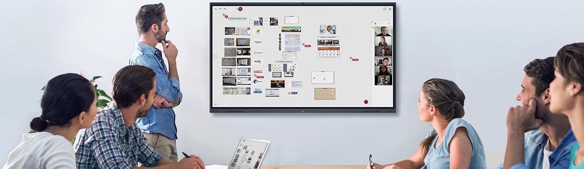 outil collaboratif vidéoconférence télétravail