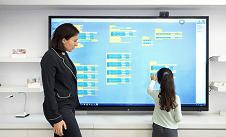 écran interactif tactile UGAP pour Territoires Numériques Educatifs