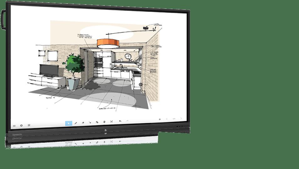 écran interactif école entreprise