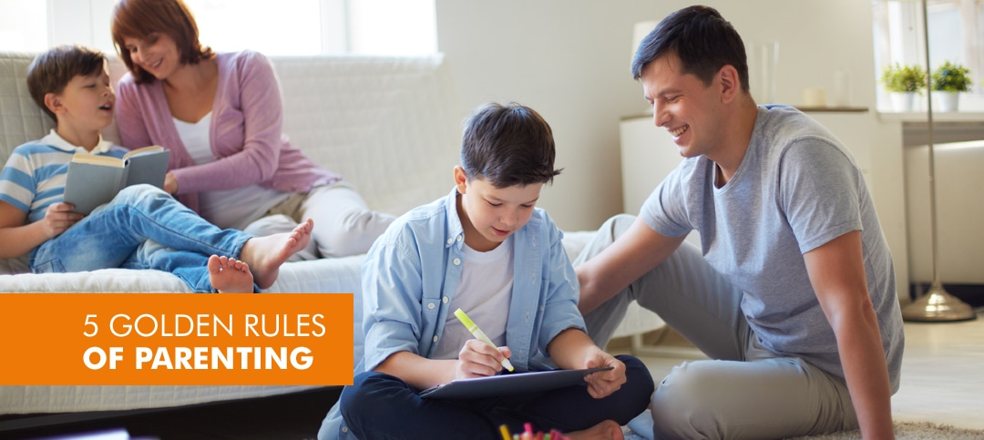 5 Golden parenting rules for every parent