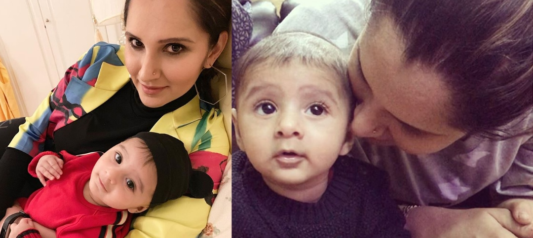 Sania Mirza shared the adorable pictures of her Baby Izhaan