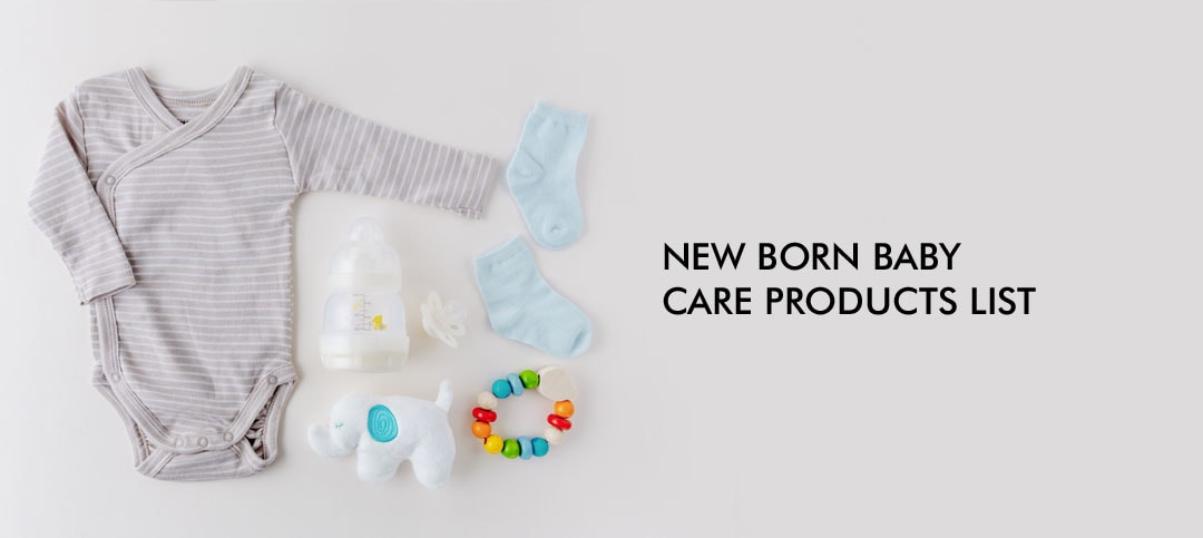 Newborn Baby Care Products List: Know what's best for your little one
