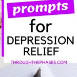 journal prompts for depression relief