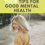 mental health bloggers tips