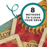 how to cleanse tarot cards