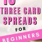 easy three card tarot spreads