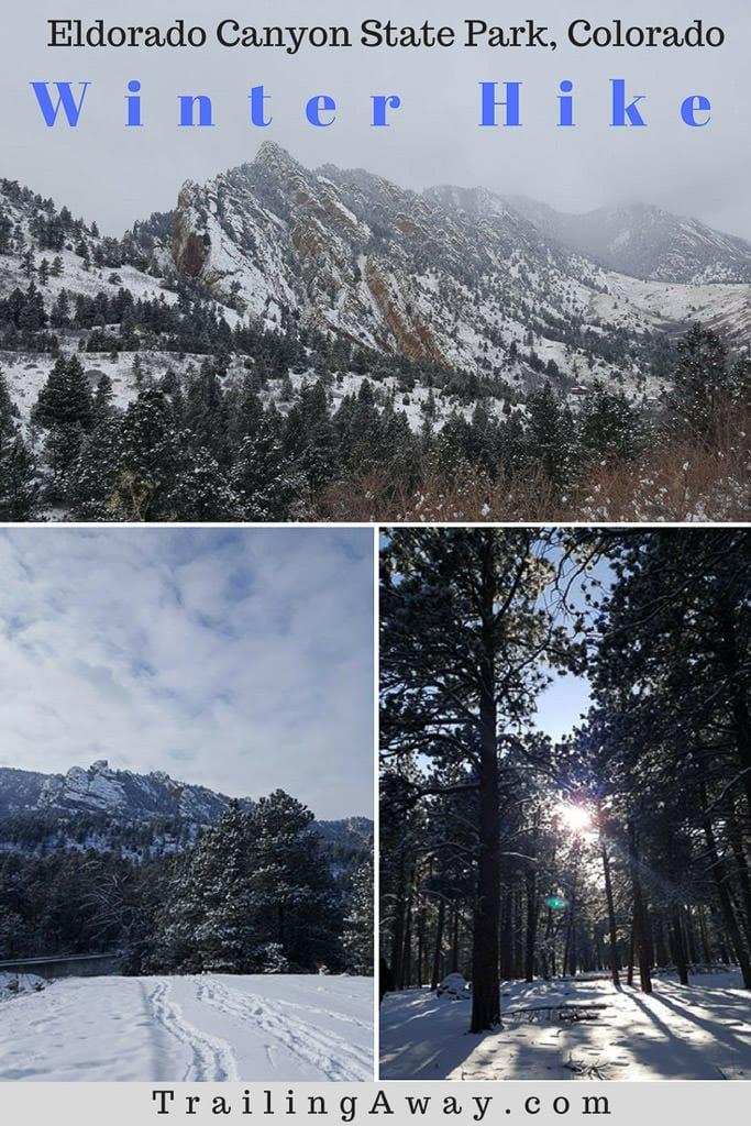 Fowler Trail - Winter Hike in Eldorado Canyon
