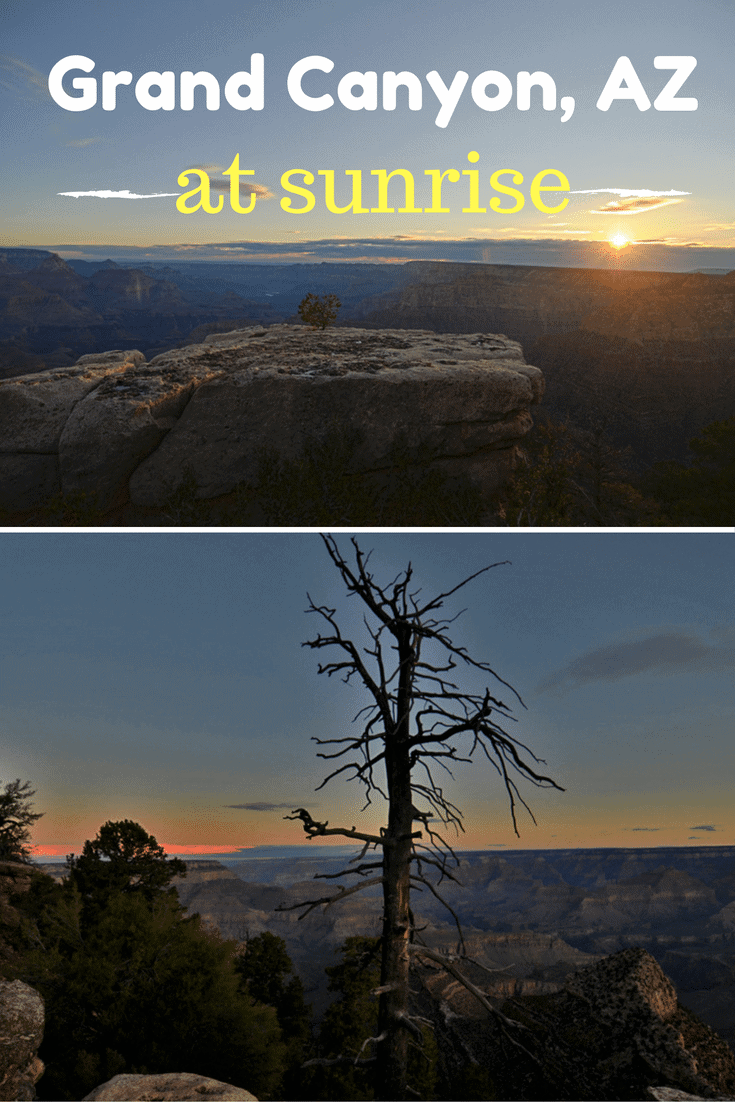 Watching the Sunrise at the Grand Canyon