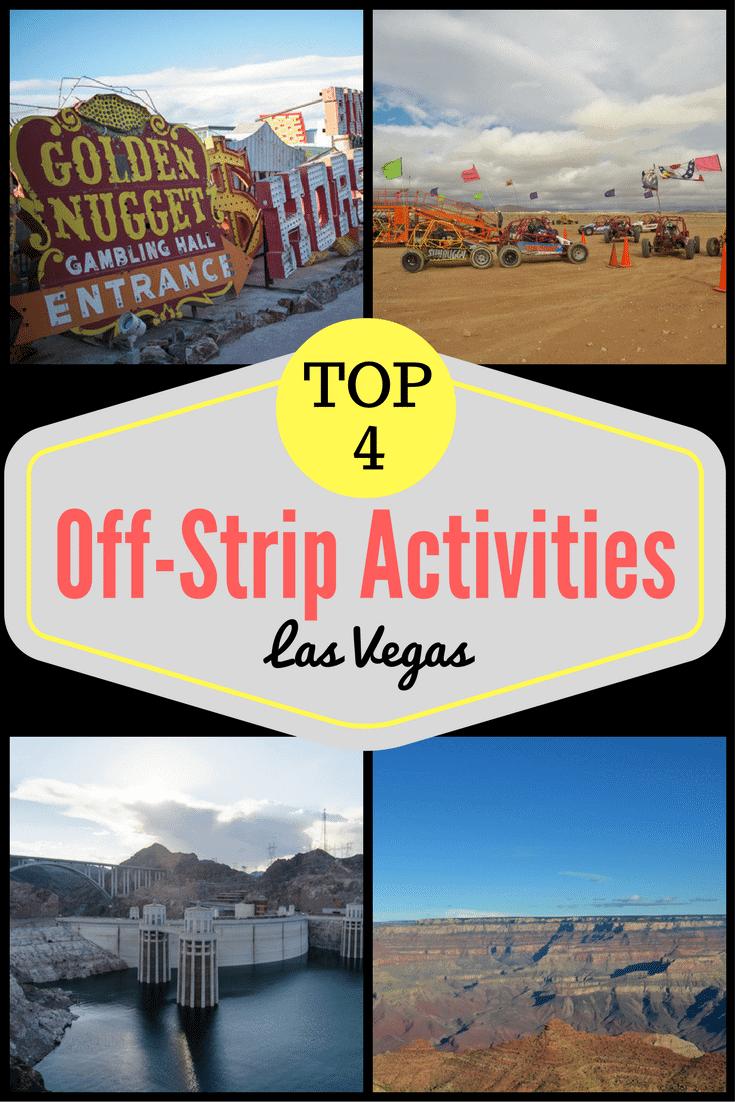 Top 4 Las Vegas Off-Strip Activities