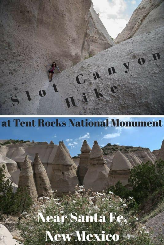 Slot Canyon Hike at Tent Rocks National Monument Near Santa Fe