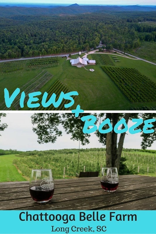Views & Booze at Chattooga Belle Farm in South Carolina