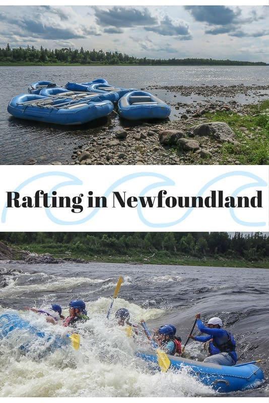 White Water Rafting in Newfoundland