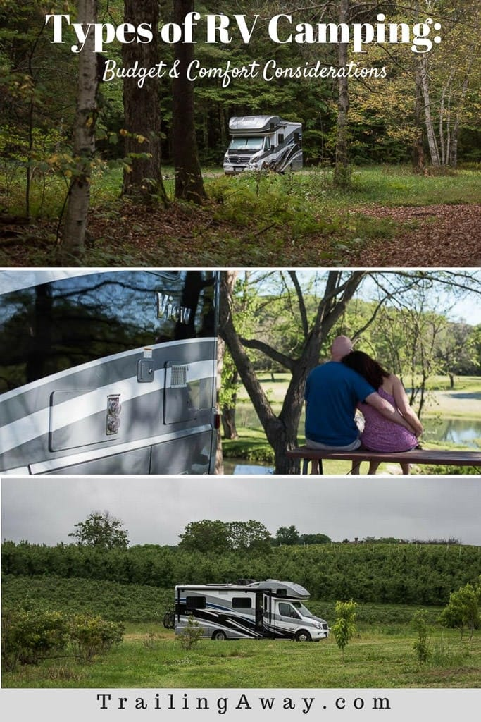 Types of RV Camping: Budget & Comfort Considerations