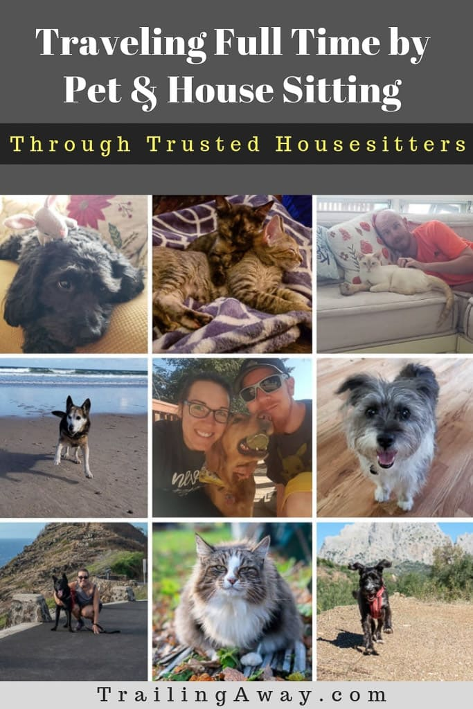Pet & House Sitting through TrustedHousesitters