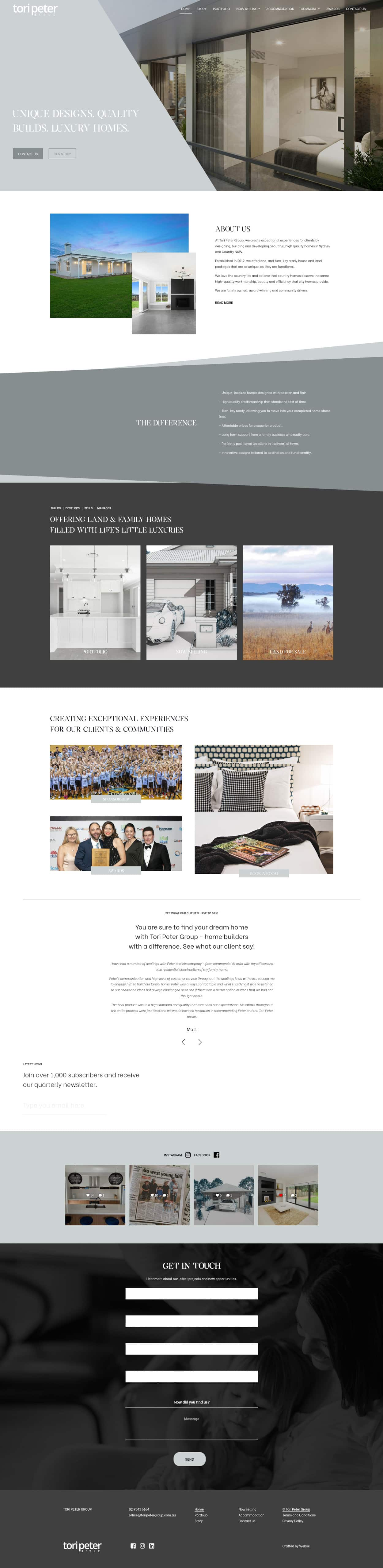 home-builders-web-design