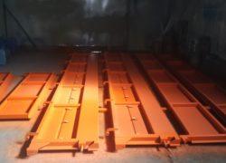 Комплект надставных бортов прицепа СЗАП 8551-02