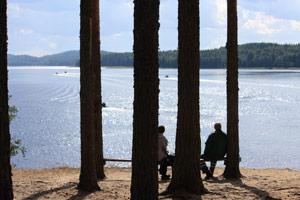 Отдых на озере Янисъярви
