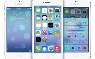 iOS 7 — описание и характеристики операционной системы.
