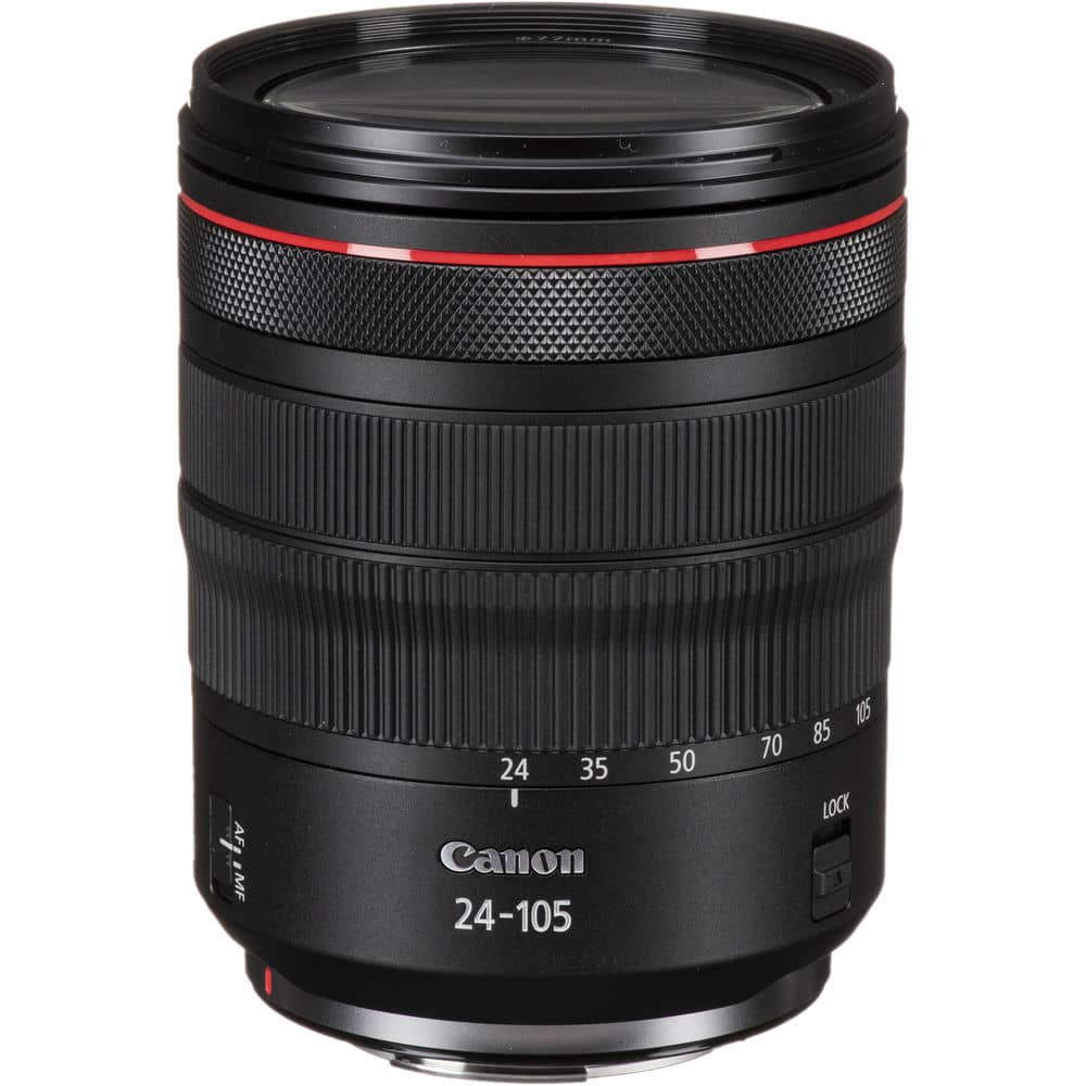 Canon RF 24-105mm f/4L IS USM, meilleur objectif pour Canon R5