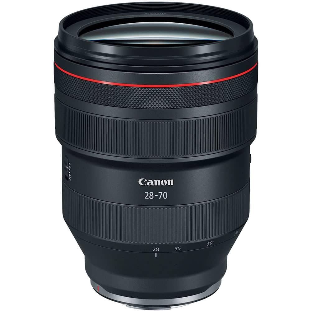 Canon RF 28-70mm f/2L USM meilleur objectif pour le Canon R5