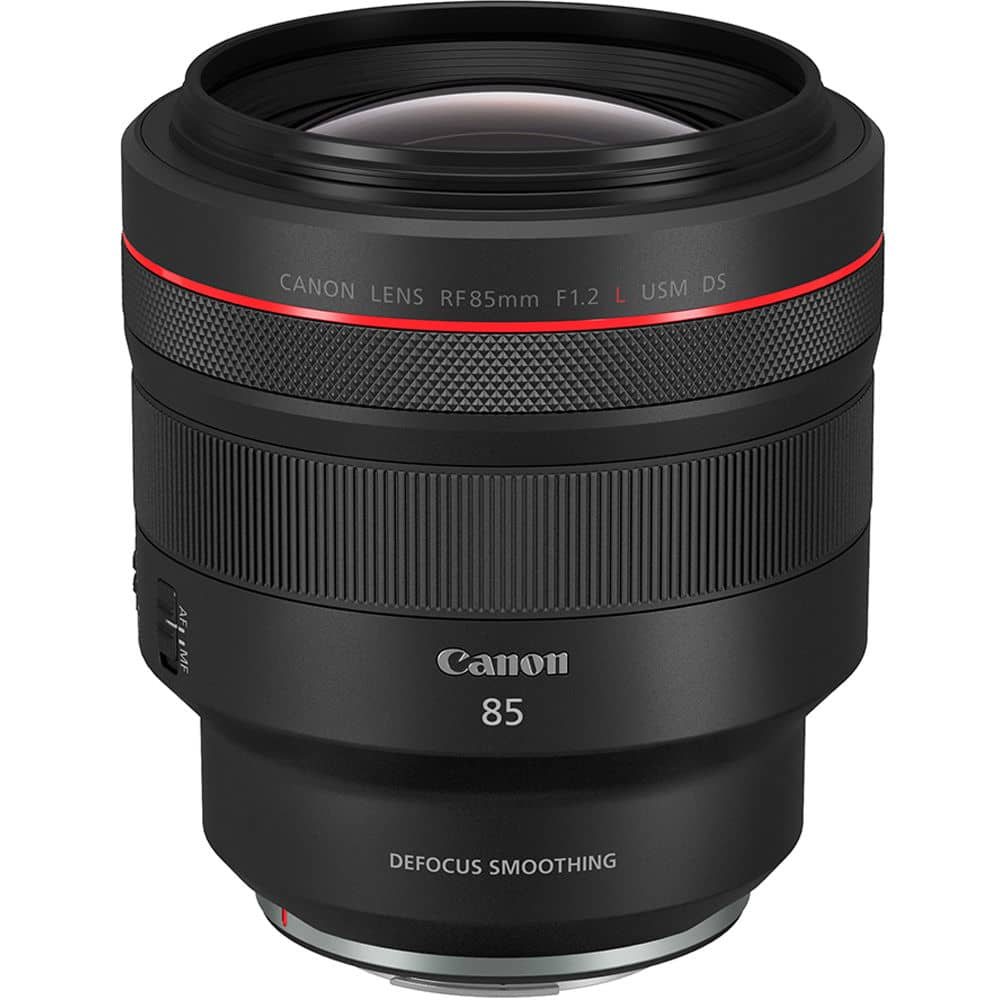 Canon RF 85mm f/1.2L USM DS objectif portrait pour Canon R5