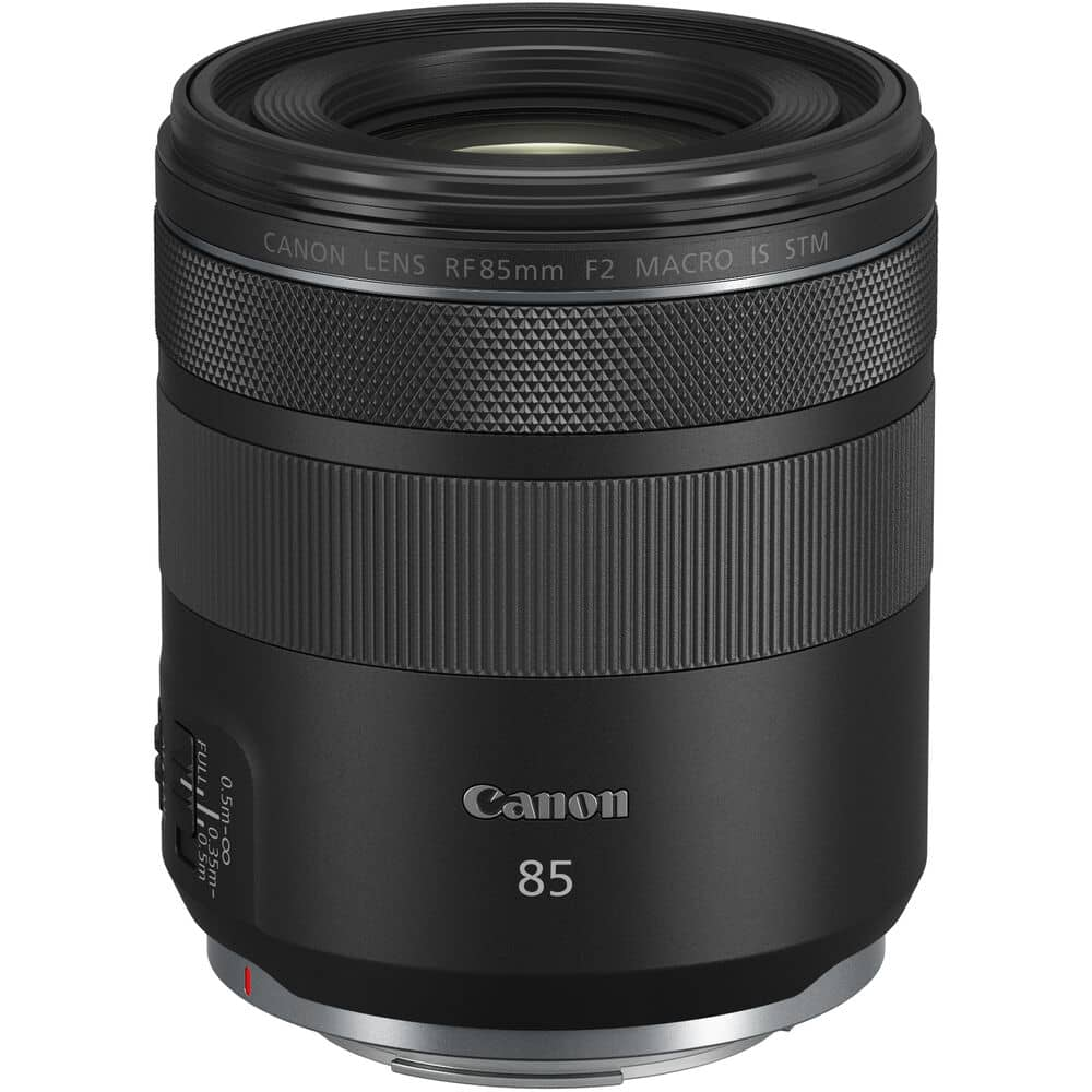 Canon RF 85mm f/2 Macro IS STM pour Canon R5