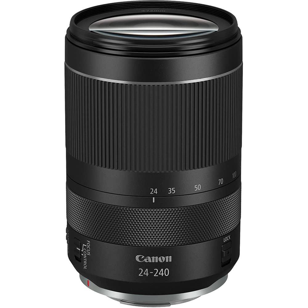 Canon RF 24-240mm f/4-6.3 IS USM meilleur objectif pour Canon EOS R5