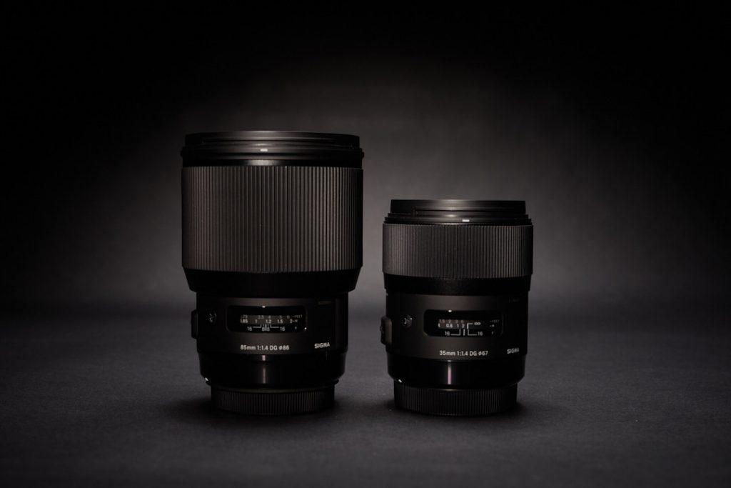 Sigma 85mm und 35mm Art © Armin Muratovic