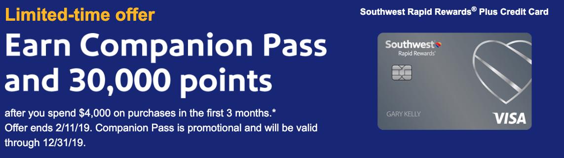 Southwest Rapid Rewards Bonus