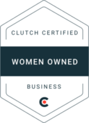 Clutch Certified Women Owned Business Logo