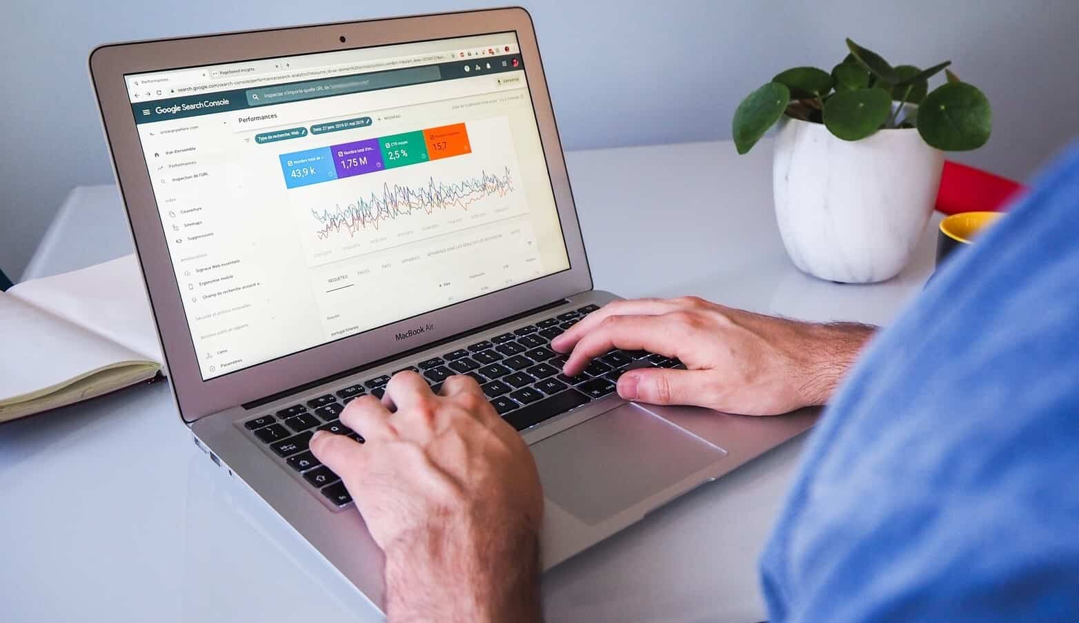 SEO planning with Google search console