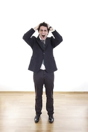frustrated renter