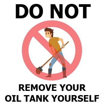 Can I Remove An Oil Tank Myself?