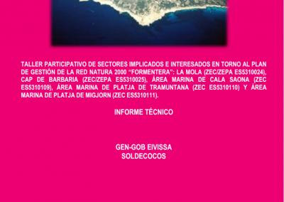 Report Participatory Workshop Natura 2000 Network Formentera