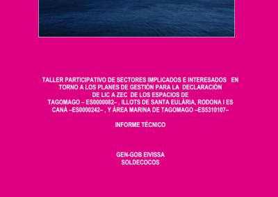 Report Participatory Workshop Natura 2000 Network Tagomago
