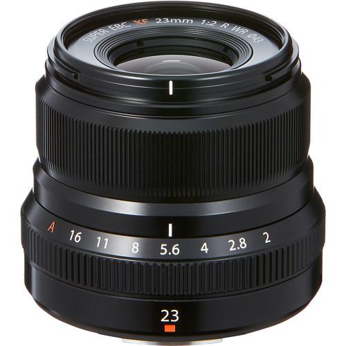 Les meilleurs objectifs pour le Fujifilm X-T4 - Fujifilm XF 23mm f/2 R