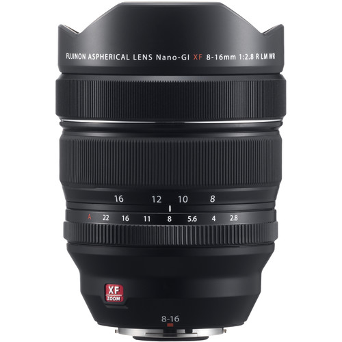 Fujifilm XF 8-16mm f/2.8 R LM WR - Les meilleurs objectifs pour le Fujifilm X-T4