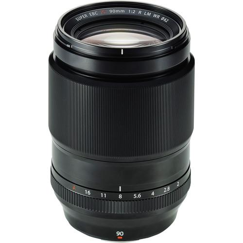 Fujifilm XF 90mm f/2 R LM WR - Les meilleurs objectifs pour le Fujifilm X-T4