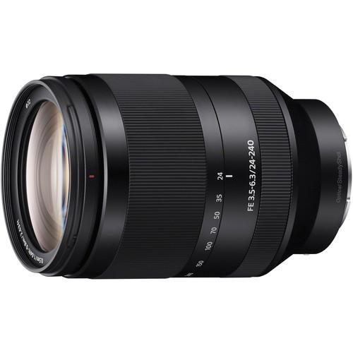 Sony FE 24-240mm f/3.5-6.3 OSS | Meilleurs objectifs recommandés pour le Sony a7R IV
