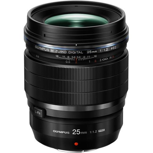 Olympus 25mm f/1.2 Pro objectif standard