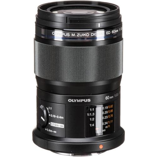meilleur objectif olympus macro pour Olympus OMD EM1 III Olympus 60mm f/2.8 Macro